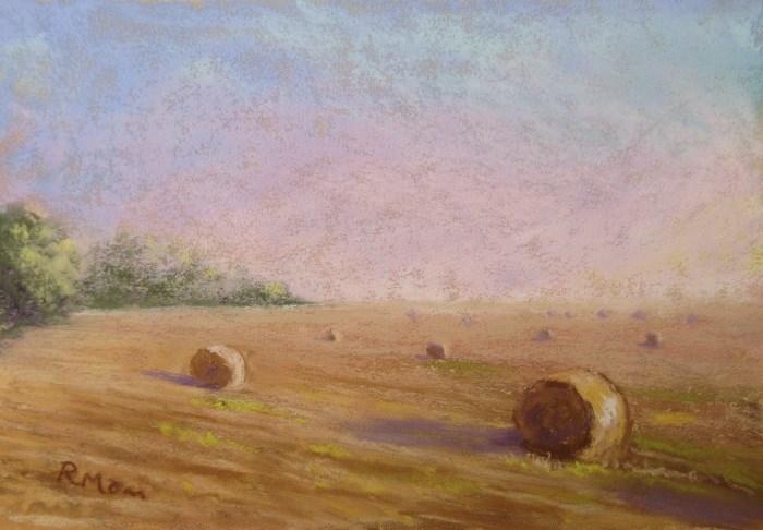 """""""Late Summer Mist"""" original fine art by Ruth Mann"""