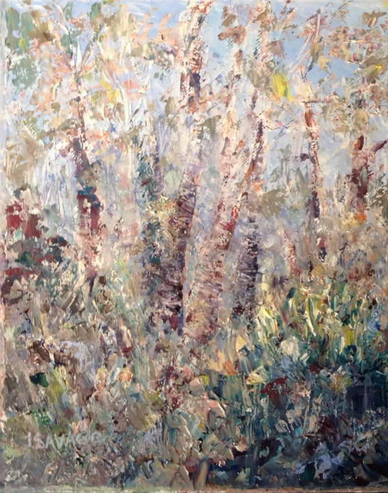 """""""Looking for the Ghost Orchid"""" original fine art by Judy Usavage"""