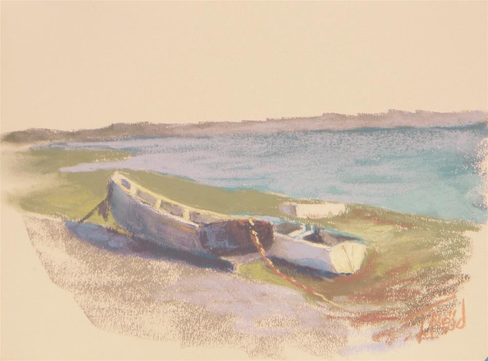 """""""Low Tide"""" original fine art by Toby Reid"""