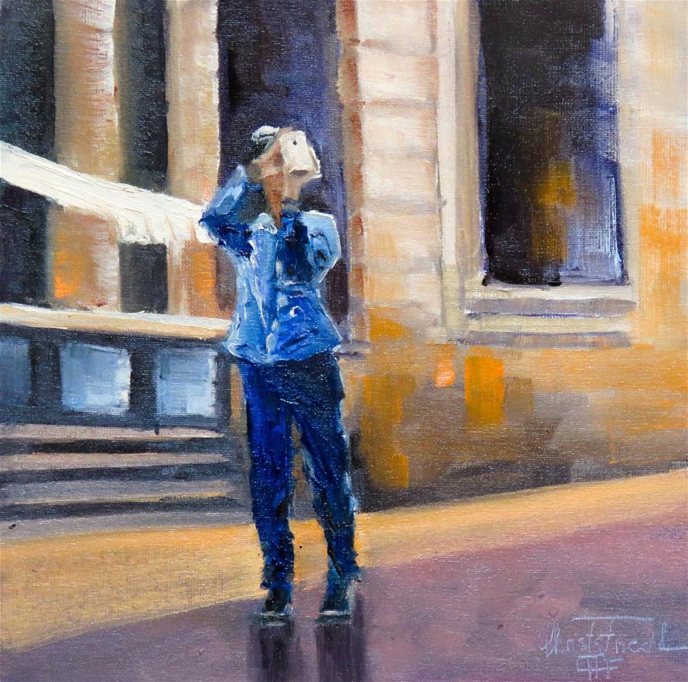 """snapshot I"" original fine art by Christa Friedl"