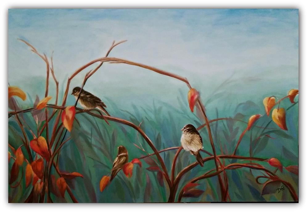 """""""Summer-Set"""" original fine art by Dana C"""