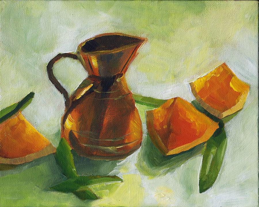 """Copper"" original fine art by J M Needham"