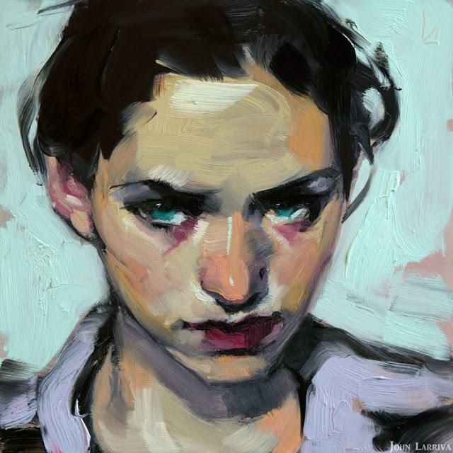 """Sabine"" original fine art by John Larriva"