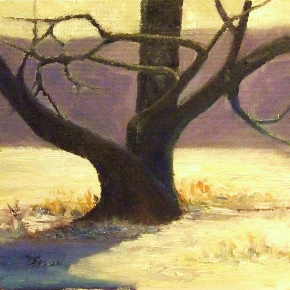 """Still standing"" original fine art by Michael Sason"
