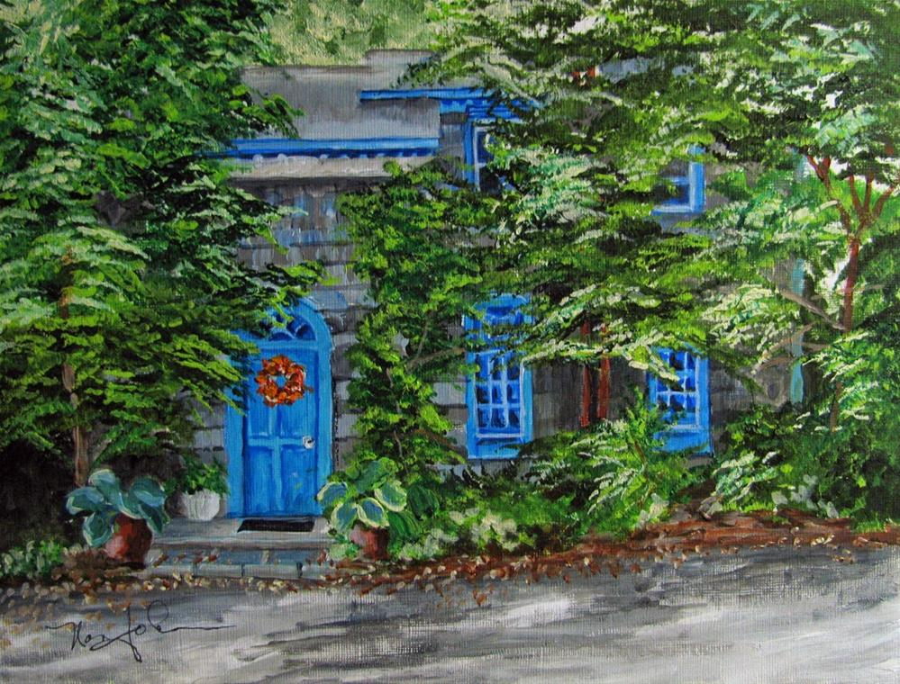 """""""Enchanting"""" original fine art by Nan Johnson"""
