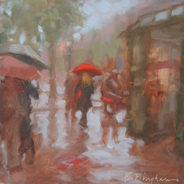 """""""Le Champs"""" original fine art by Bruce Bingham"""