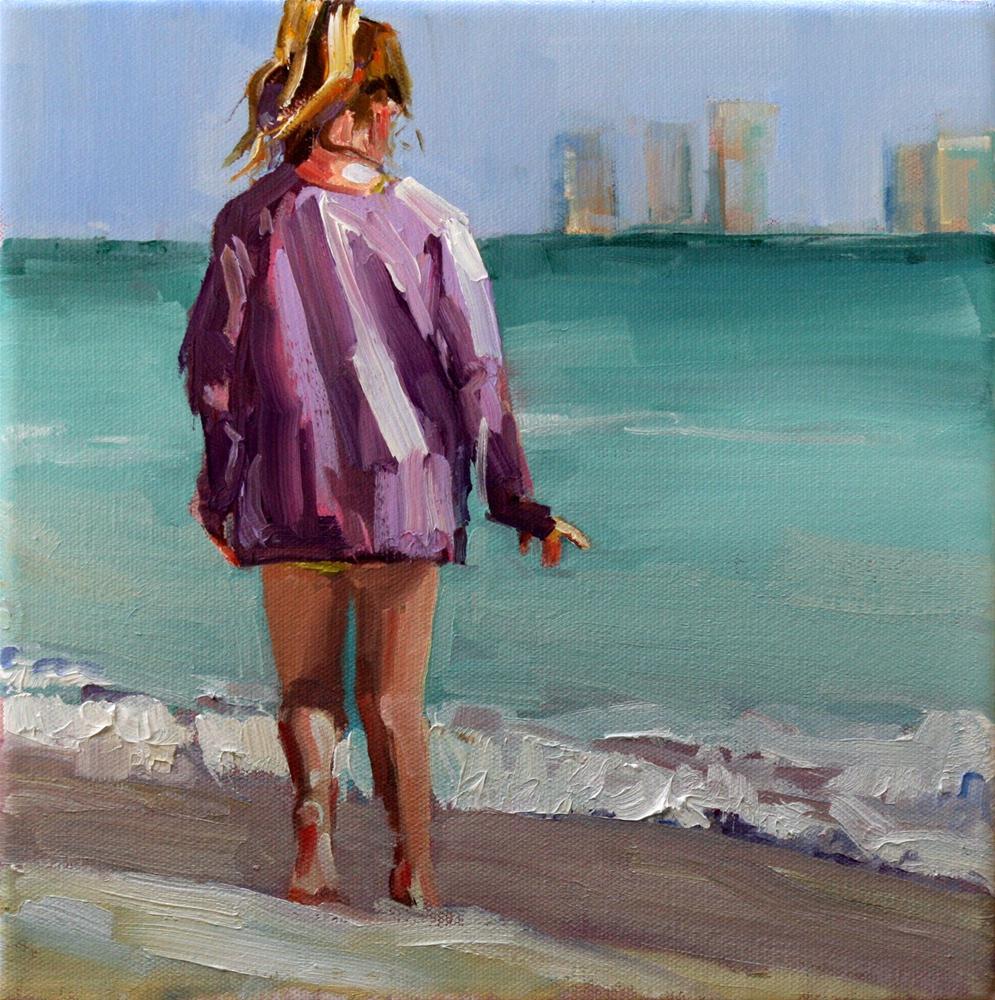"""roamer"" original fine art by Carol Carmichael"