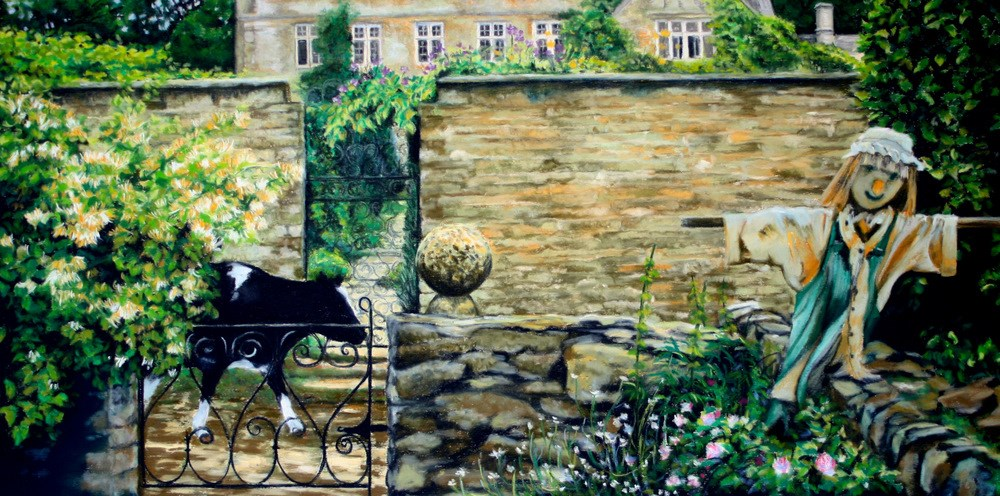 """Looking for Rosemary"" original fine art by Jill Bates"