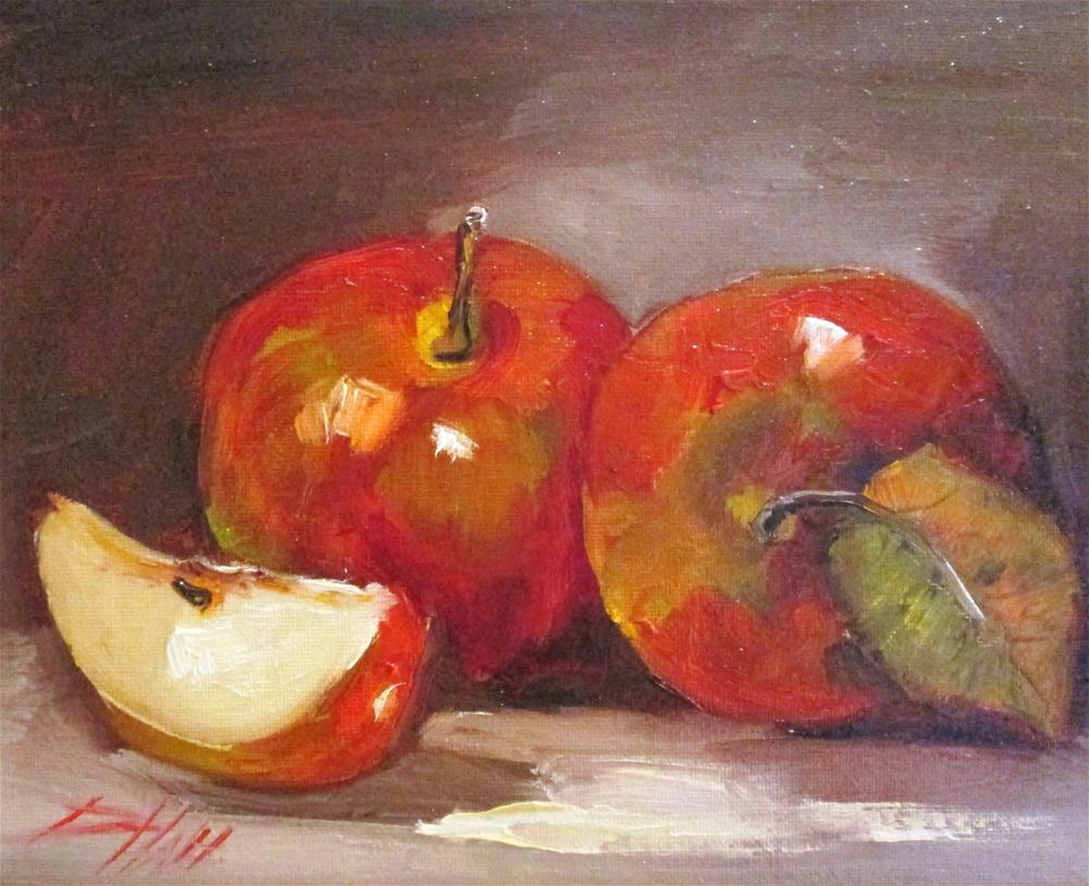 """An Apple A Day No.2"" original fine art by Delilah Smith"