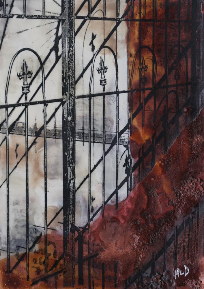 """Iron Shadows"" original fine art by Heather Douglas"