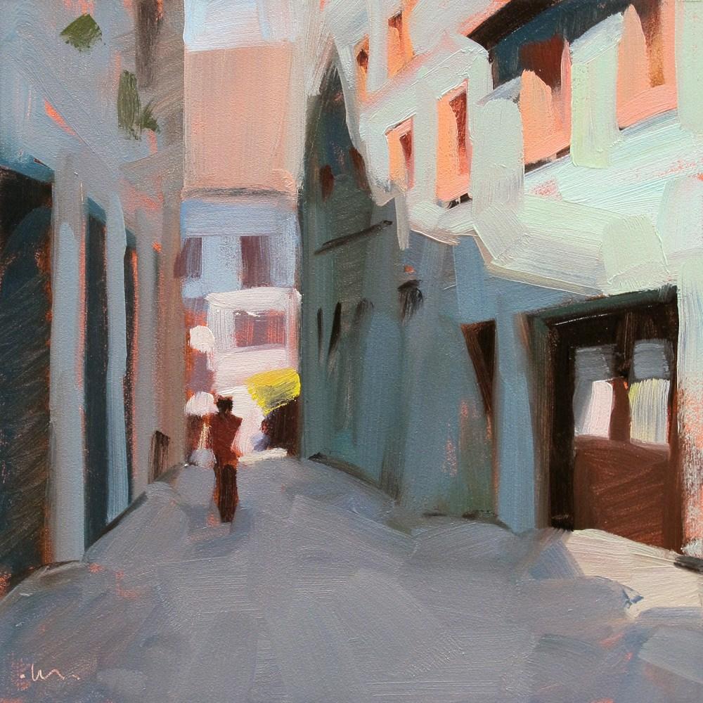 """""""Alley Shadows"""" original fine art by Carol Marine"""