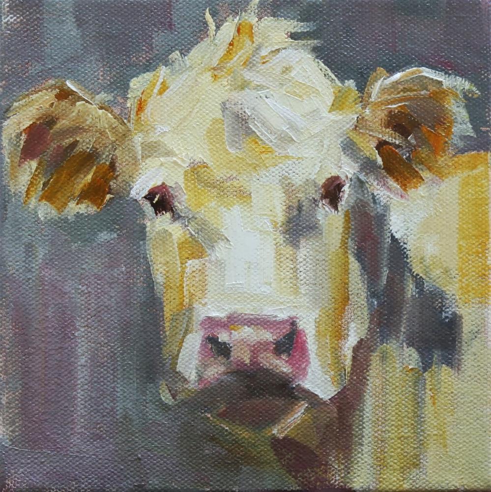 """""""buff"""" original fine art by Carol Carmichael"""