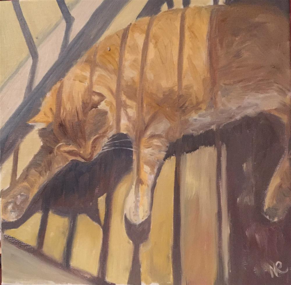 """Lazy afternoon"" original fine art by Natasha Ramras"