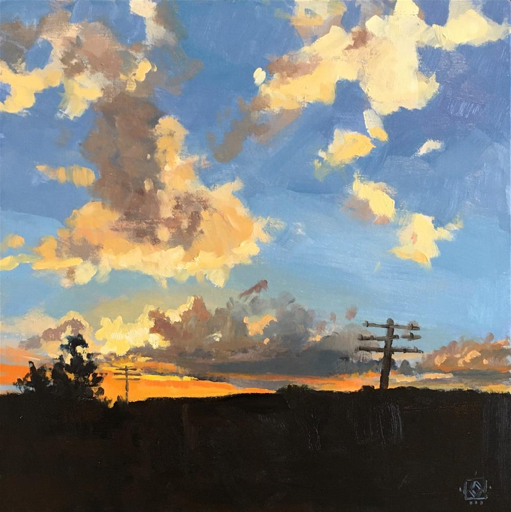 """The World As We Know It"" original fine art by Carol Granger"