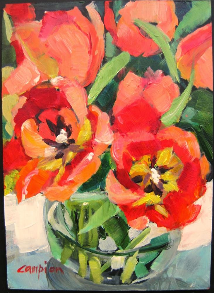 """329 Costars"" original fine art by Diane Campion"