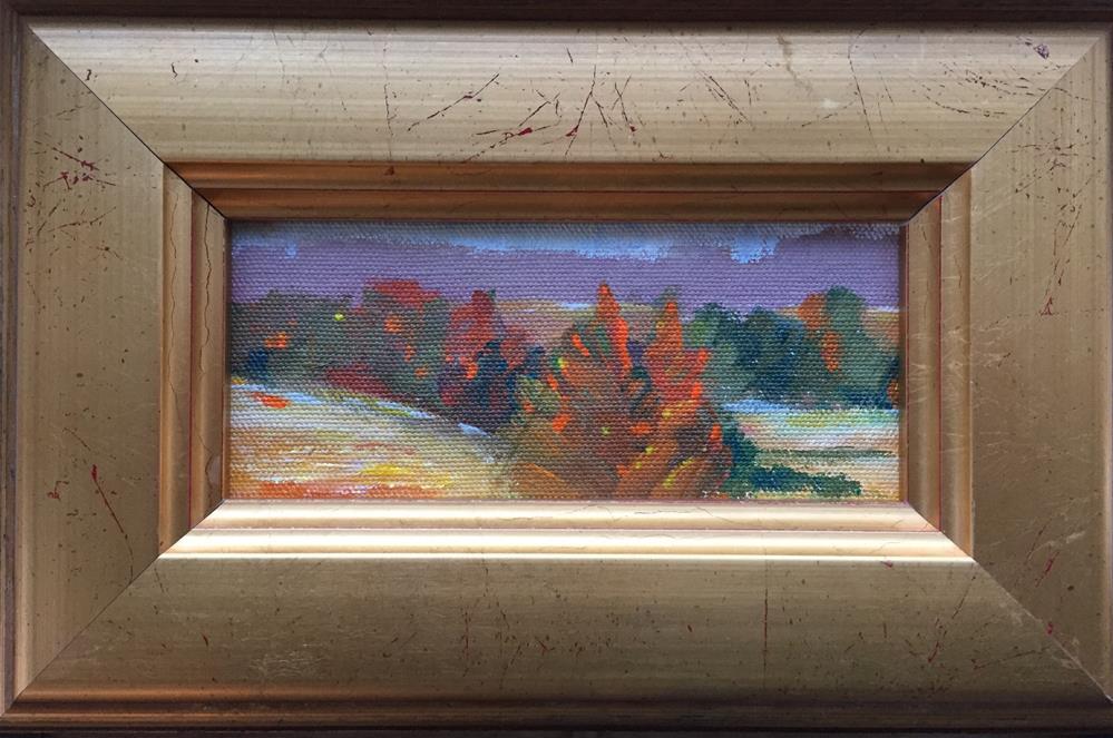 """Daily sketch landscape"" original fine art by Dawn Melka"