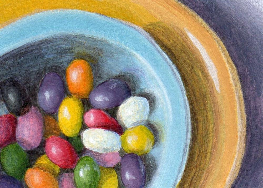 """Candy Dish"" original fine art by Debbie Shirley"