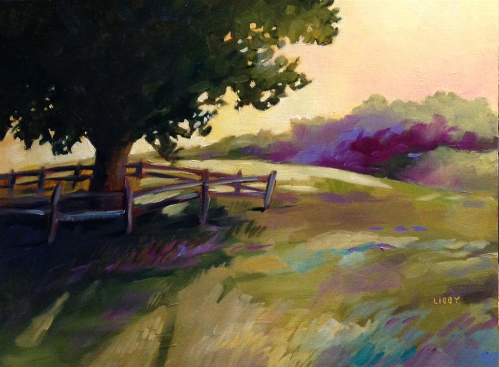 """Shade Tree"" original fine art by Libby Anderson"