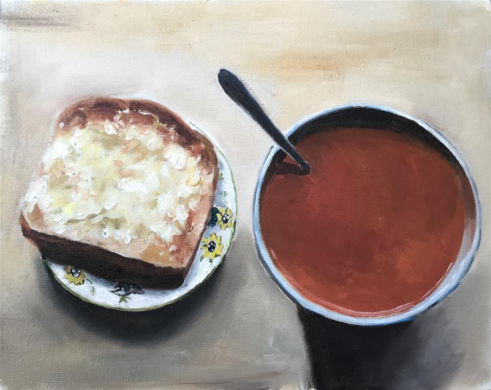 """""""Soup"""" original fine art by James Coates"""