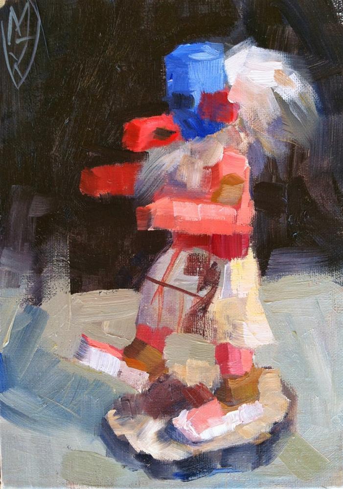 """Kachina"" original fine art by Michael Williamson"