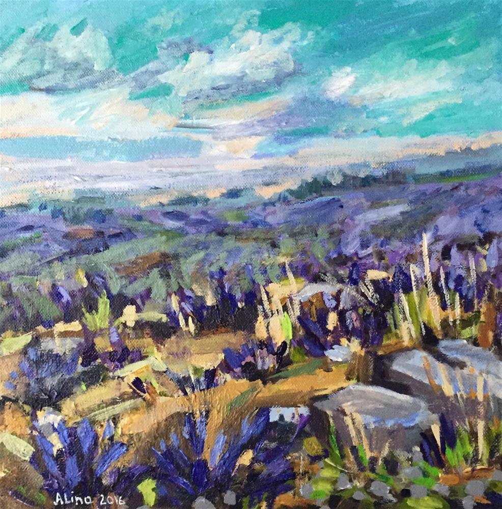 """""""Wild Flowers"""" original fine art by Alina Vidulescu"""
