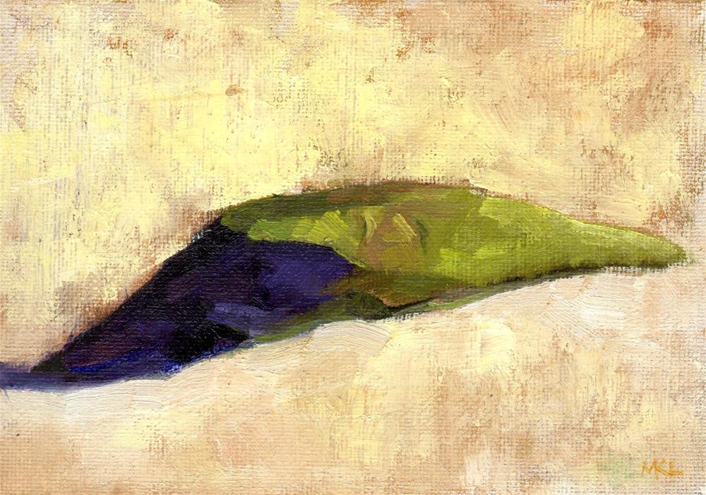 """""""Fallen Iris"""" original fine art by Marlene Lee"""
