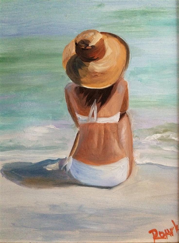"""Destin Daydreams"" original fine art by Carol Roark"