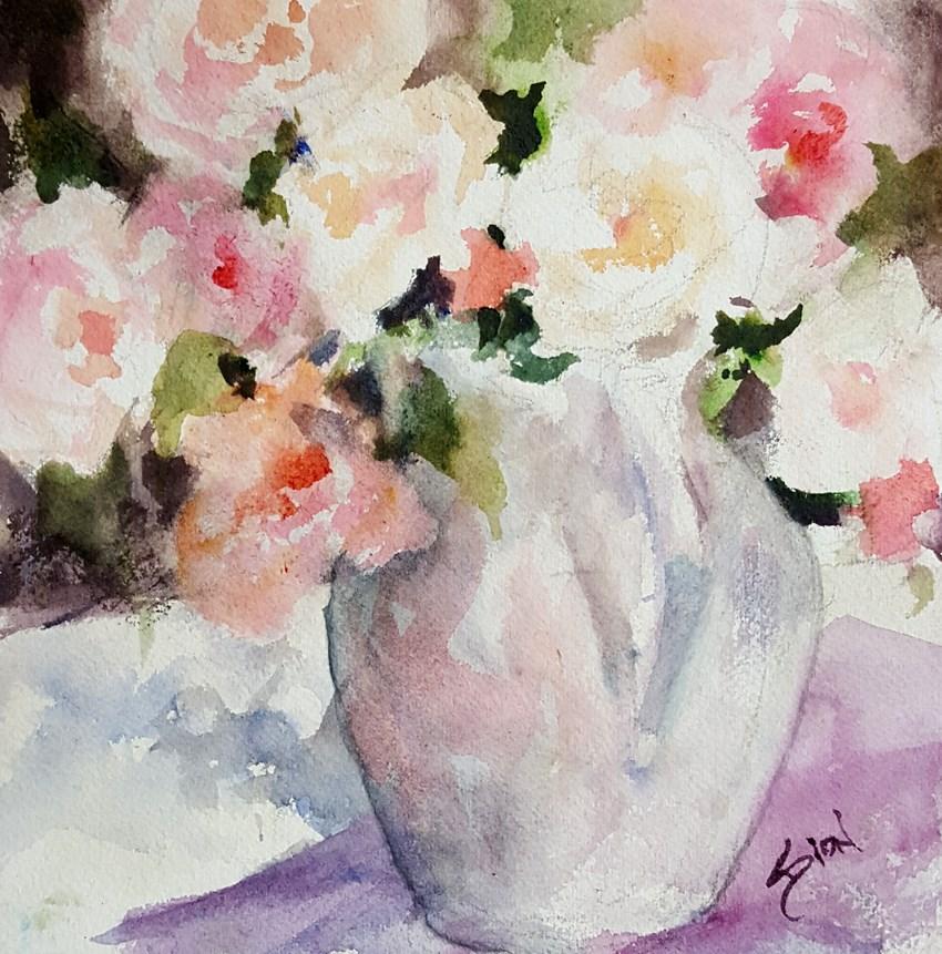 """""""Summer Light"""" original fine art by Sue Dion"""