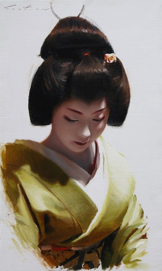 """""""Toshimana"""" original fine art by Phil Couture"""