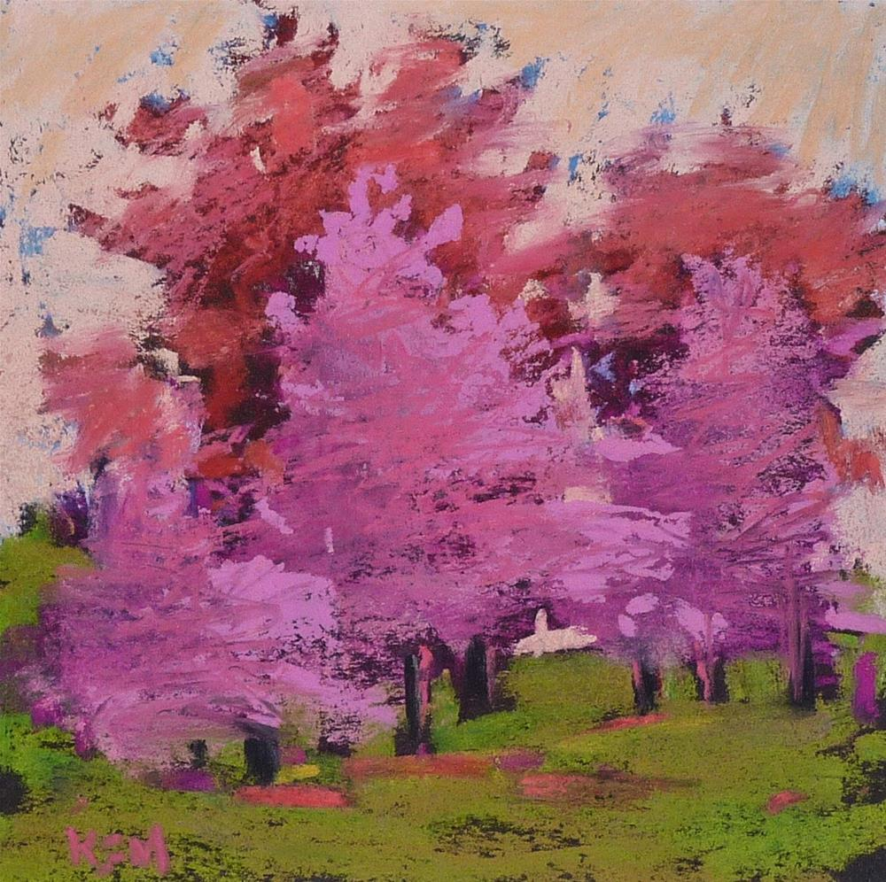 """A Must Try Painting Exercise and some Spring Color"" original fine art by Karen Margulis"