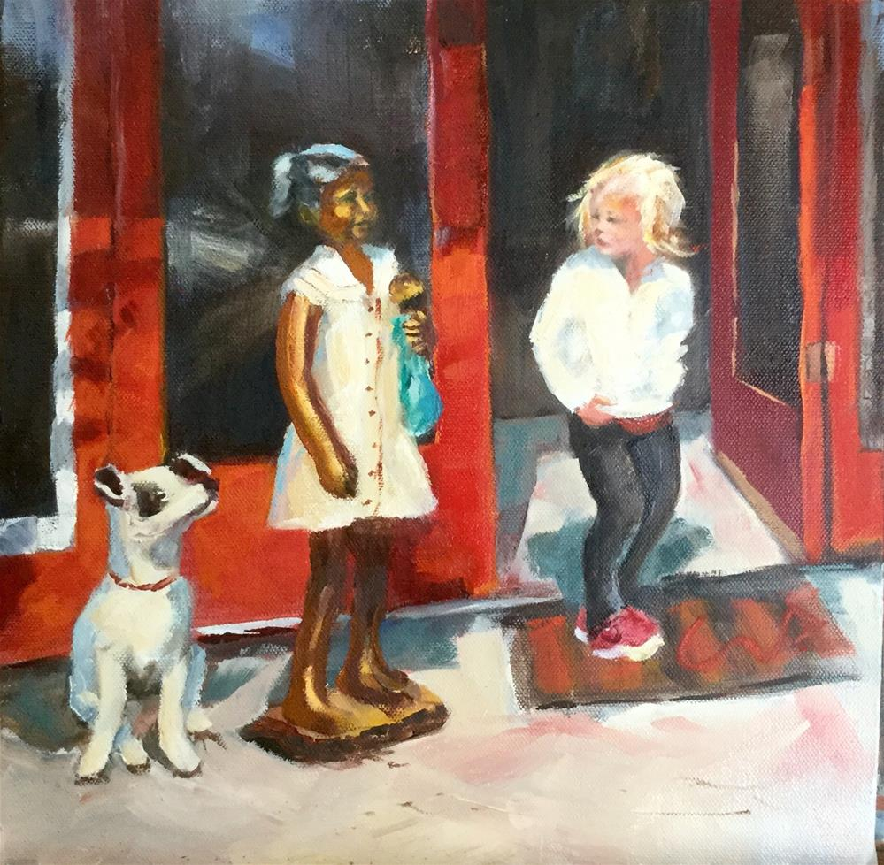 """Small Treasures"" original fine art by Sharon Abbott-Furze"