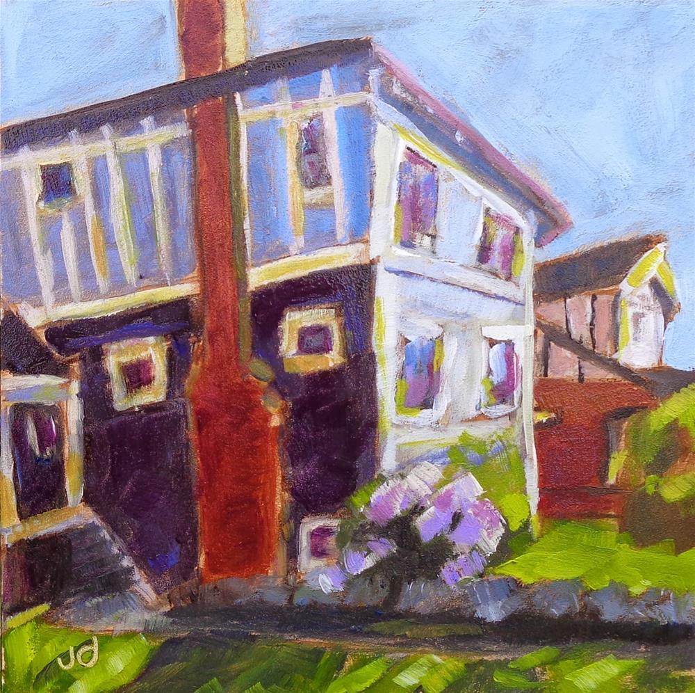 """A spring day"" original fine art by Jean Delaney"