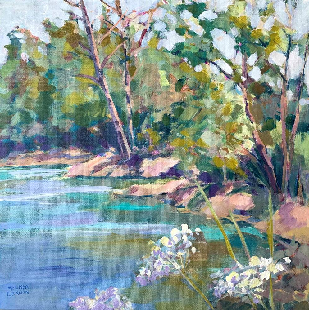 """Water & Lace"" original fine art by Melissa Gannon"