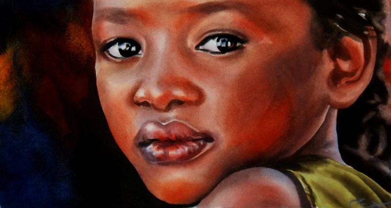 """Hope"" original fine art by Crystal Cook"
