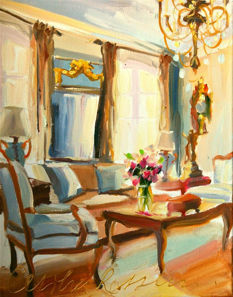 """FRANSE KAMER"" original fine art by Cecilia Rosslee"