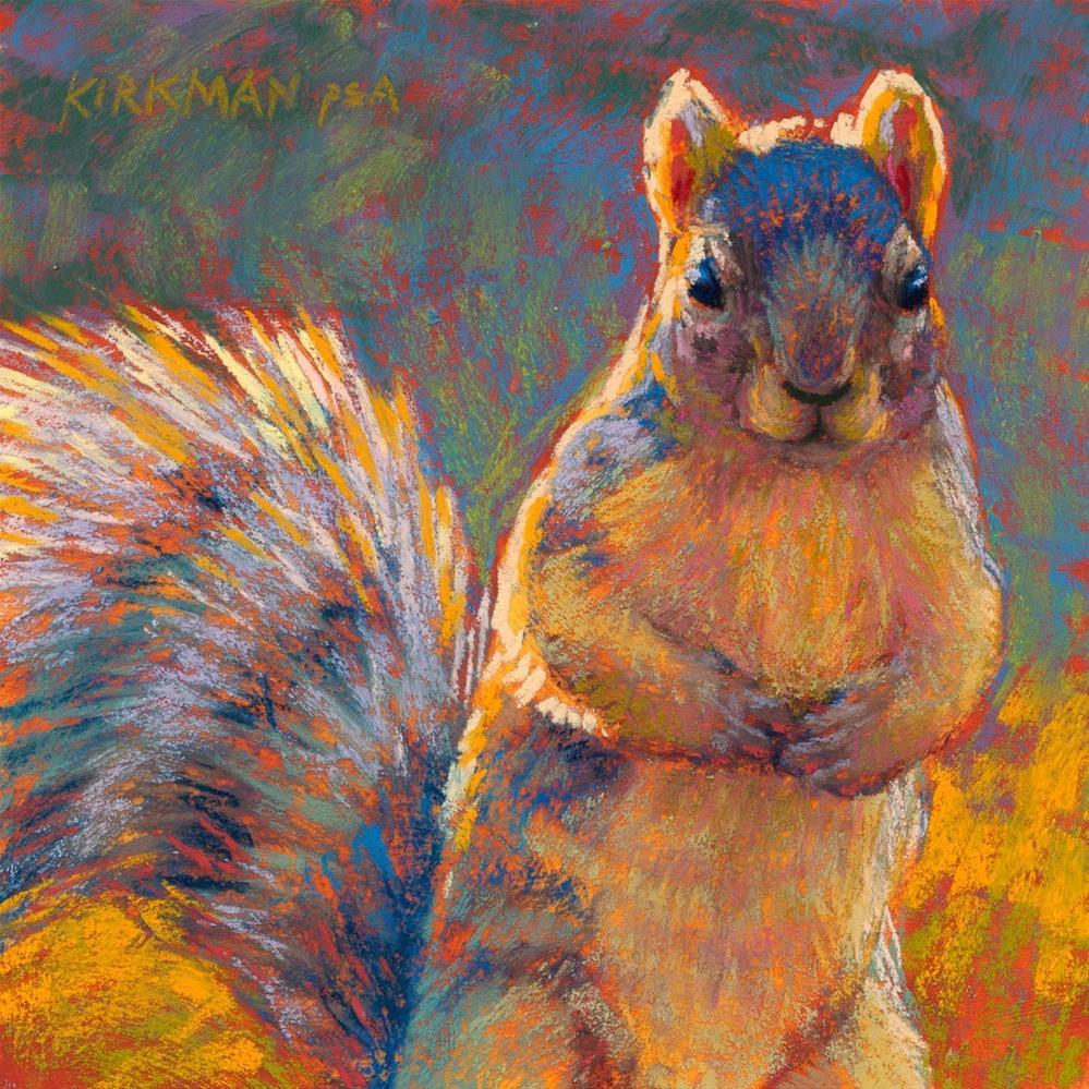 """Got Nuts? And Workshop Heads-up!"" original fine art by Rita Kirkman"
