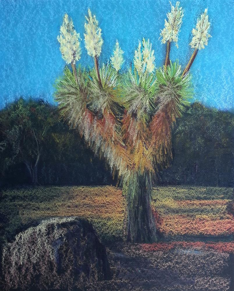 """Sharp Dressed Yucca"" original fine art by Anna Lisa Leal"