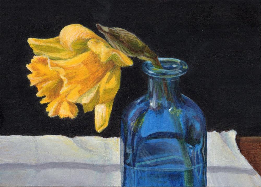 """""""Come Over"""" original fine art by Debbie Shirley"""