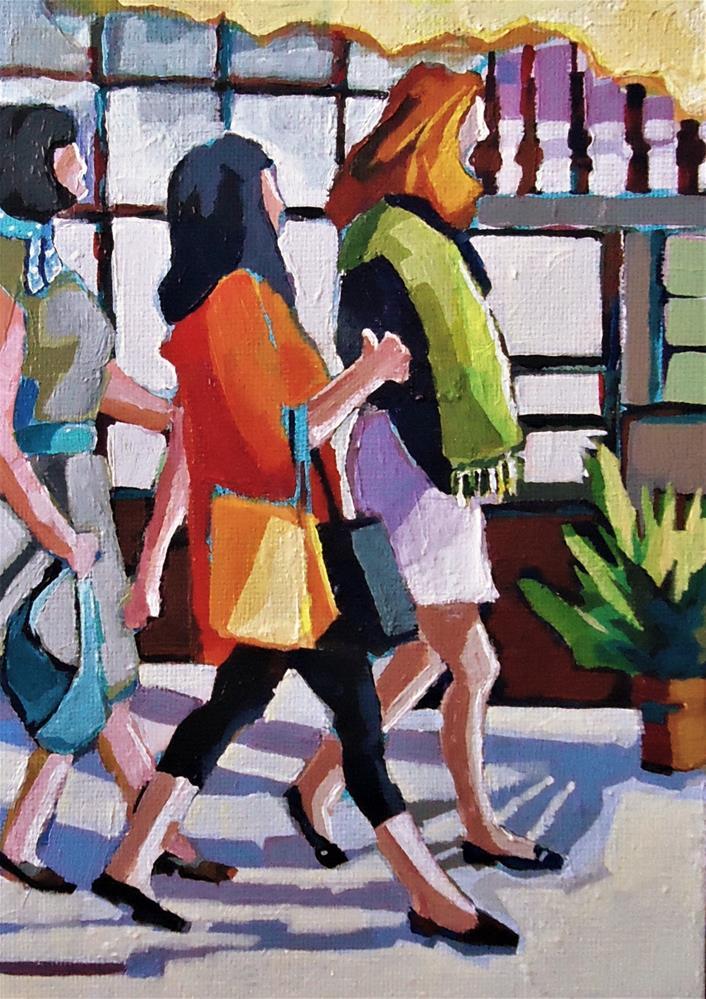 """While Supplies Last"" original fine art by Laurie Mueller"