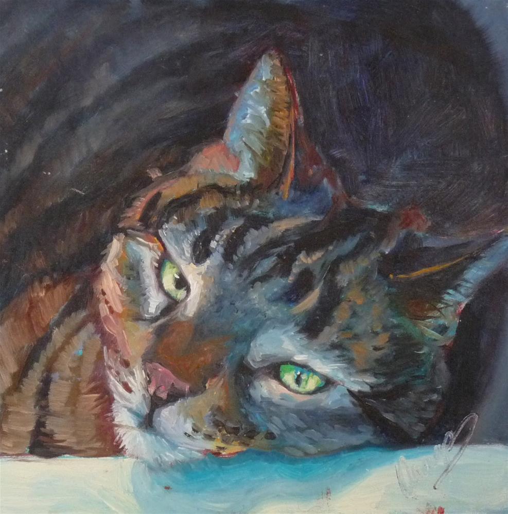 """My Terms"" original fine art by Sharman Owings"