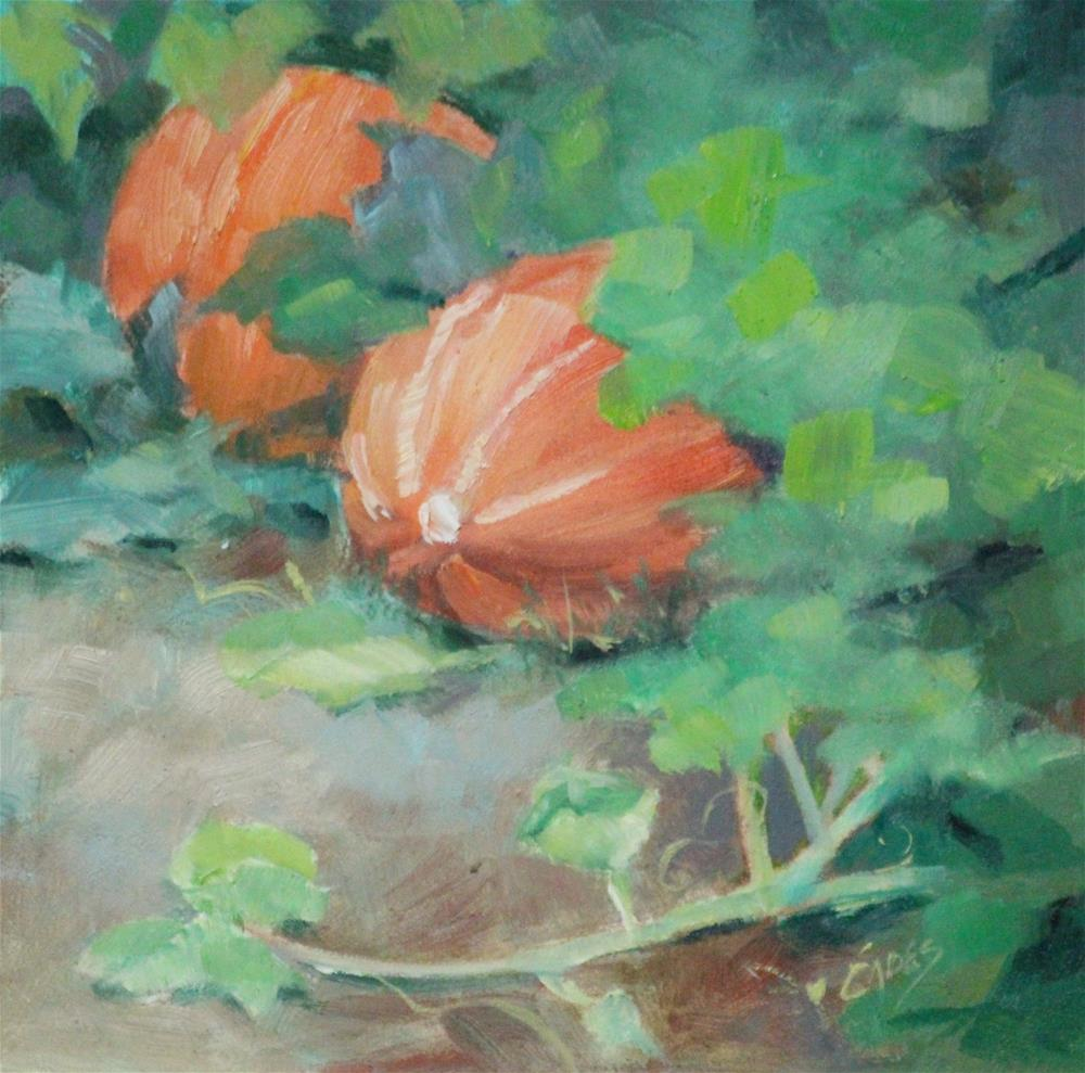 """On the Vine"" original fine art by Linda Eades Blackburn"