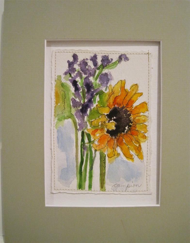 """447 Welcome"" original fine art by Diane Campion"
