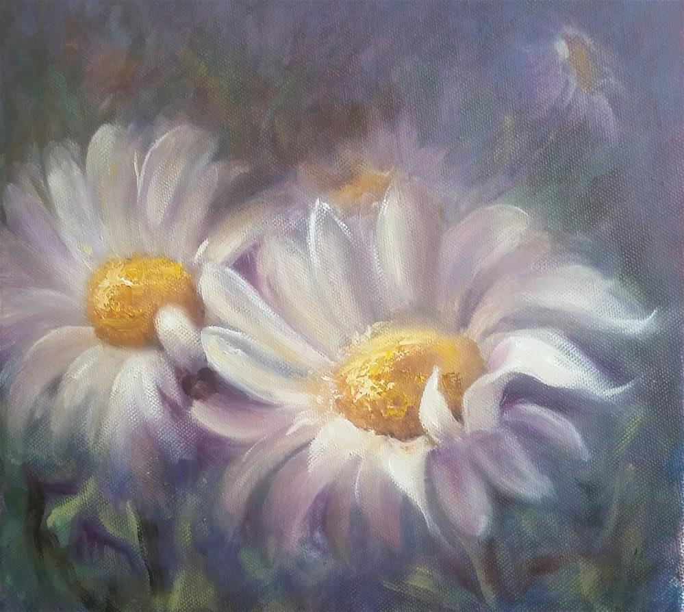 """""""Oops-a-daisy!"""" original fine art by Ronel Alberts"""