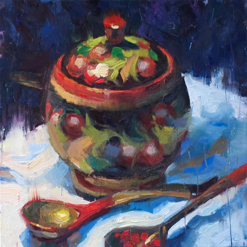 """Russian Spirit"" original fine art by Emiliya Lane"