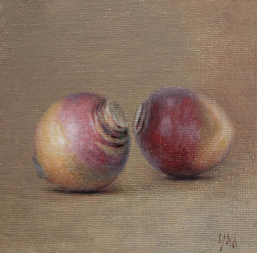 """""""rutabaga"""" original fine art by Yuehua He"""