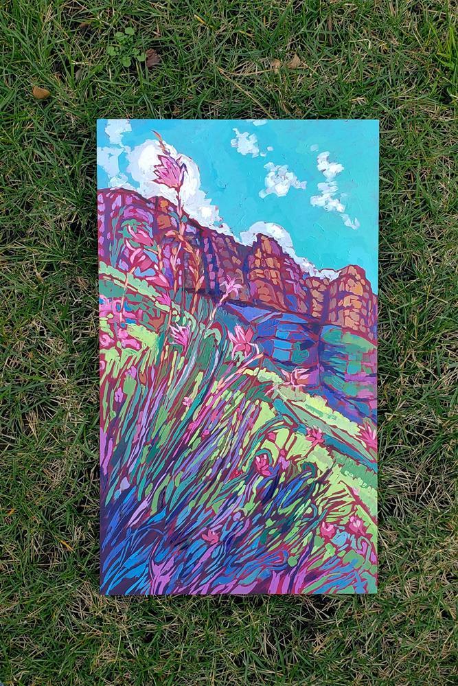 """""""Early Spring"""" original fine art by Bhavna Misra"""