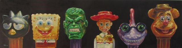 """SAY CHEEZE!"" original fine art by Mb Warner"