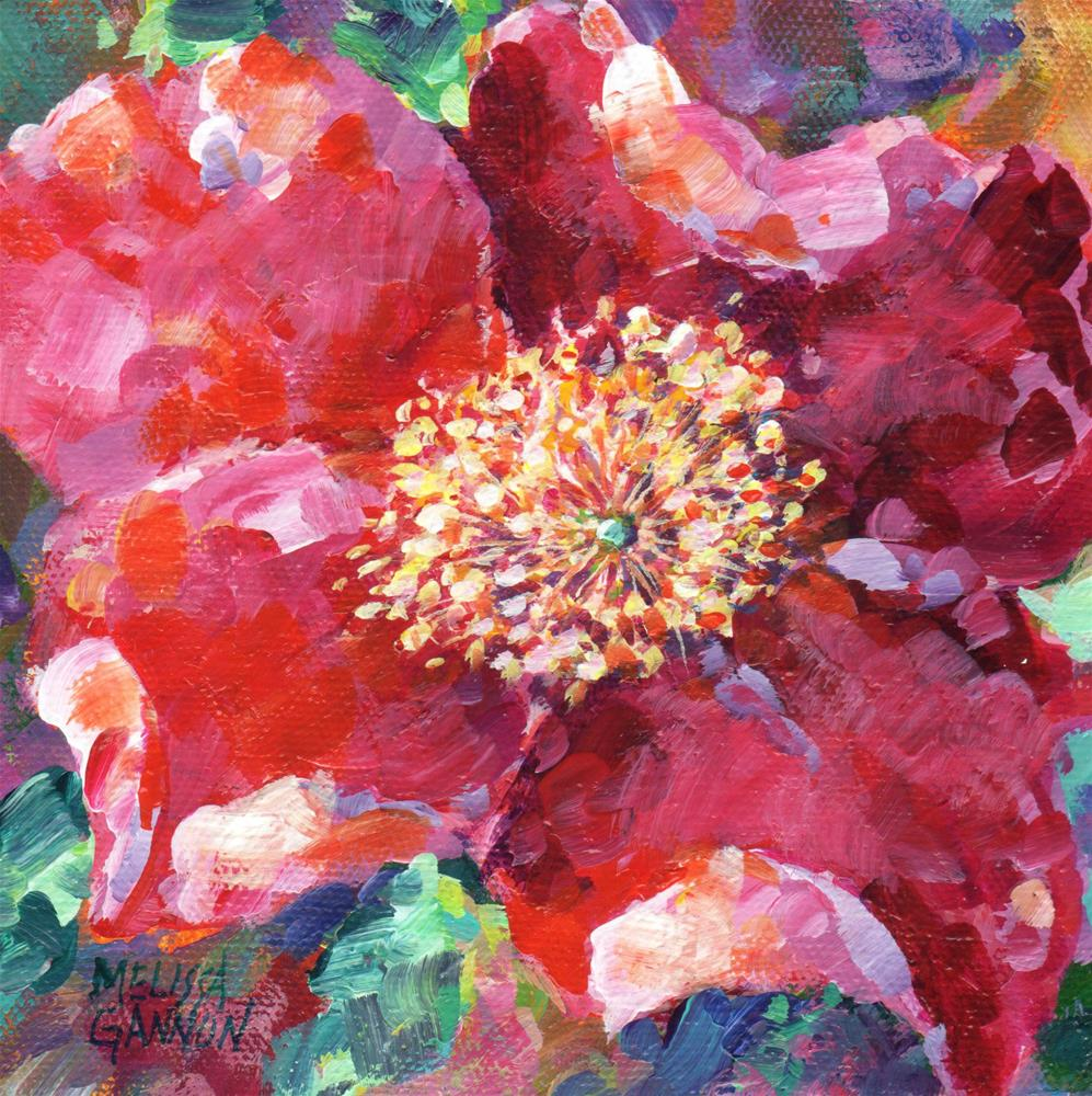 """Wild Rose Mood"" original fine art by Melissa Gannon"
