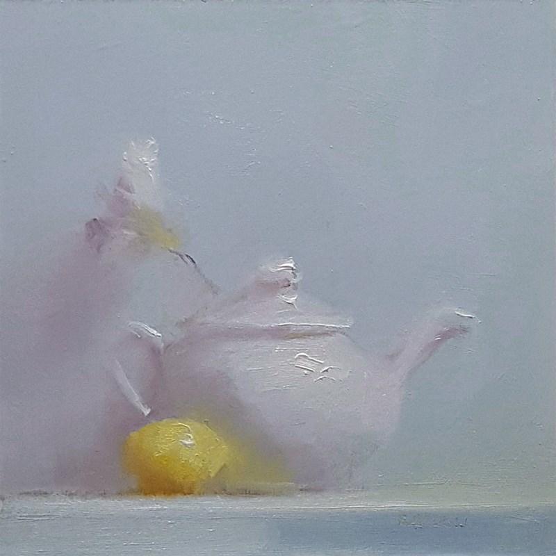"""""""Teapot"""" original fine art by Neil Carroll"""