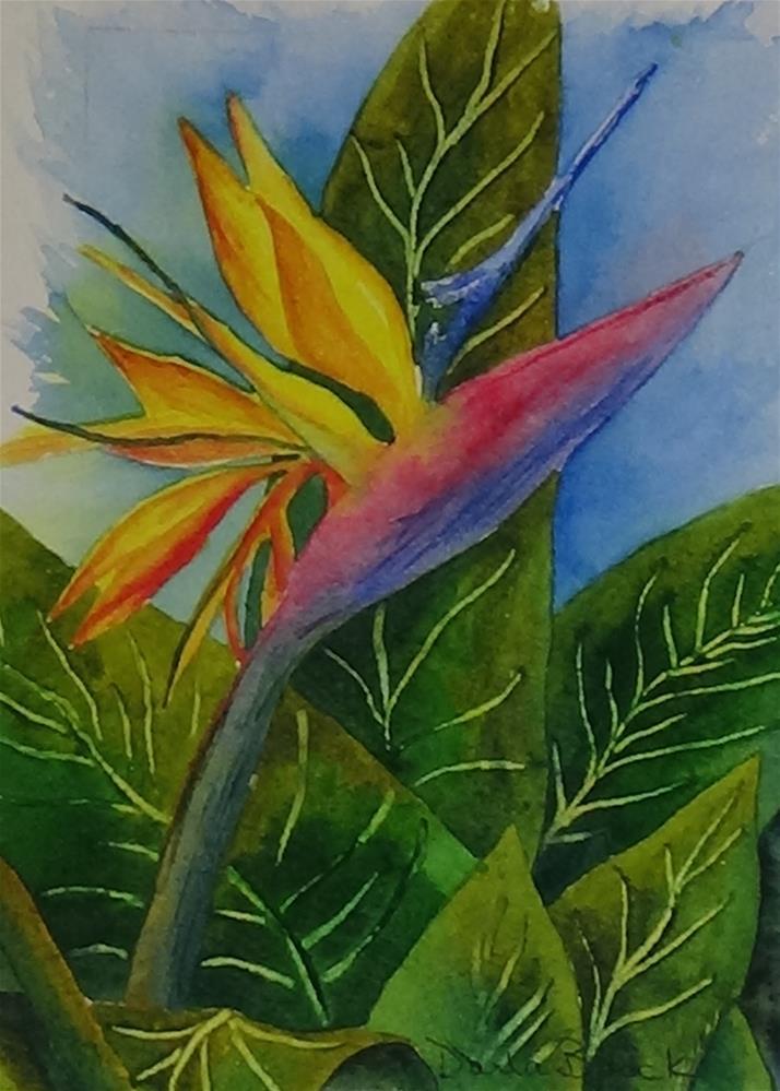 """""""Memories of Paradise"""" original fine art by Darla Brock"""